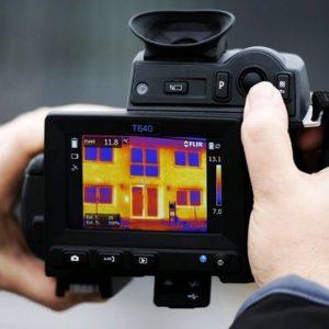 Wärmebildkameras zur Gebäudediagnostik